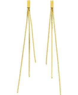Boucles Or Jaune 750-000 3 Brins
