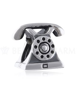 BEAUTY CHARMS ARGENT TELEPHONE