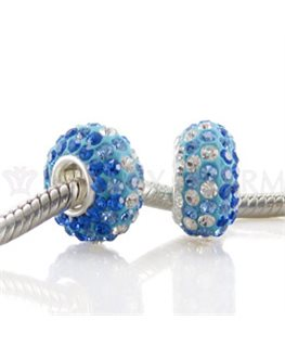 BEAUTY CHARMS ARGENT OE BLEU + OZ BLANC