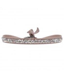 Bracelet Les Interchangeables Fine Rocks Beige Rosé Cristaux Swarovski®
