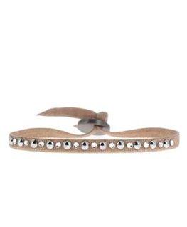Bracelet Les Interchangeables Mini Perle Et Strass Rose 1