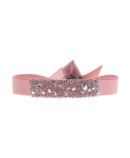 Bracelet Les Interchangeables Mini Medley Rose Cristaux Swarovski®