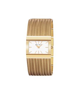 MONTRE DAME ELIXA BEAUTY PL-OR ROSE RECT