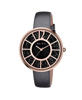 MONTRE DAME ELIXA FINESSE DORE ROSE CD-N