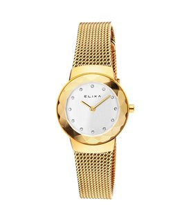 MONTRE DAME ELIXA BEAUTY PL-OR CAD-BLANC