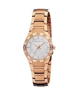 MONTRE DAME ELIXA BEAUTY PL-OR ROSE