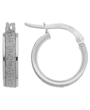 BOUCLES OR GRIS 375-000 GLITTER 3-6MM