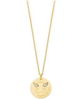 COLLIER OR 375-000 MON ANGE LULU CASTAGN