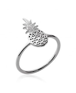 Bague Argent Ananas