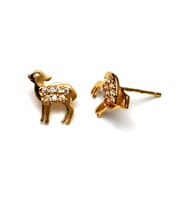 BOUCLES OR BICHE OZ