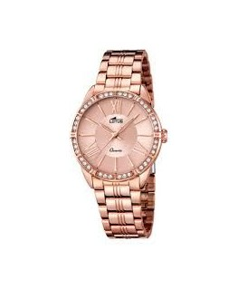 Montre LOTUS Dame Bracelet Acier Rose