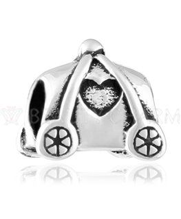 Pendentif Beauty Charms Argent Carriole