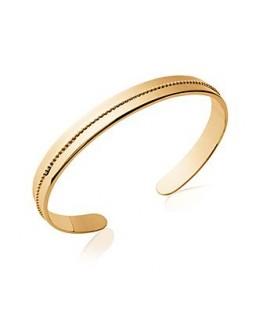 Bracelet Jonc Plaqué Or 6mm
