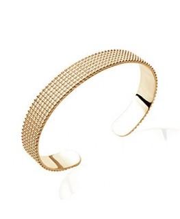 Bracelet Jonc Plaqué Or 10mm