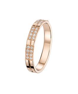 Alliance Or Rouge Diamants 0.25ct 750/000