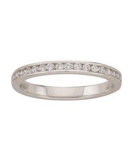 Alliance Or Gris Diamants 0.23ct 750/000