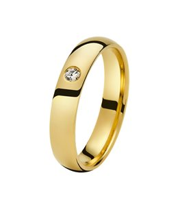 Alliance Or Jaune Diamant 0.05ct 750/000