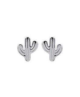 Boucle Argent Cactus