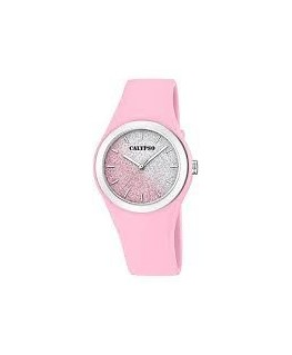 MONTRE CALYPSO ROSE PAILLETEE