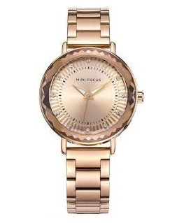 MONTRE DAME MINI FOCUS PL-OR RO CAD-DORE