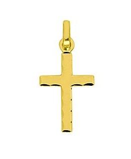 Pendentif Or Jaune 750 Croix