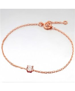 Bracelet Plaqué Or Rose Oz