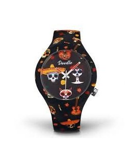 MONTRE DOODLE CALAVERAS MOOD ORANGE