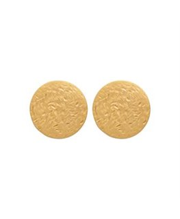 BOUCLES PLAQUE OR