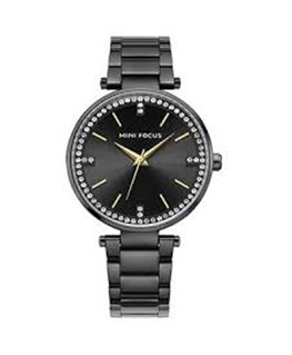 MONTRE DAME MINI FOCUS METAL NO C-NOIR