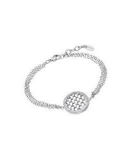 Bracelet Lotus Femme Acier Rond Oz