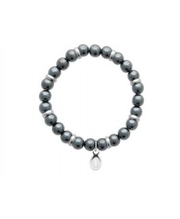 Bracelet Acier Hématite