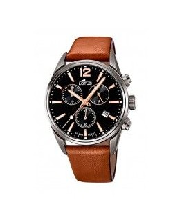 Montre LOTUS Homme Cuir Marron