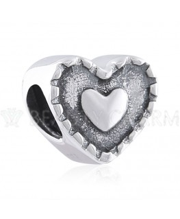BEAUTY CHARMS Argent Coeur