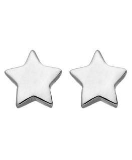 Boucles Or Gris 375/1000 Étoile