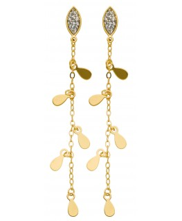 B-O PEND CHARMING CHAINS PAILLETES OR