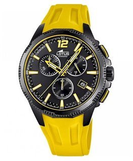MONTRE LOTUS CHRONO BRC JAUNE FD NO-NO-J