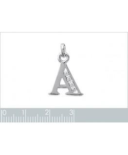 Initiale Argent A Zirconium
