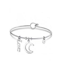Bracelet LOTUS Femme Acier Lune