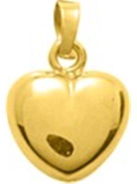 Pendentif coeur or jaune 750/000