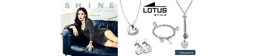 LOTUS FEMME COLLECTION LOTUS Bijouterie Eric Duny